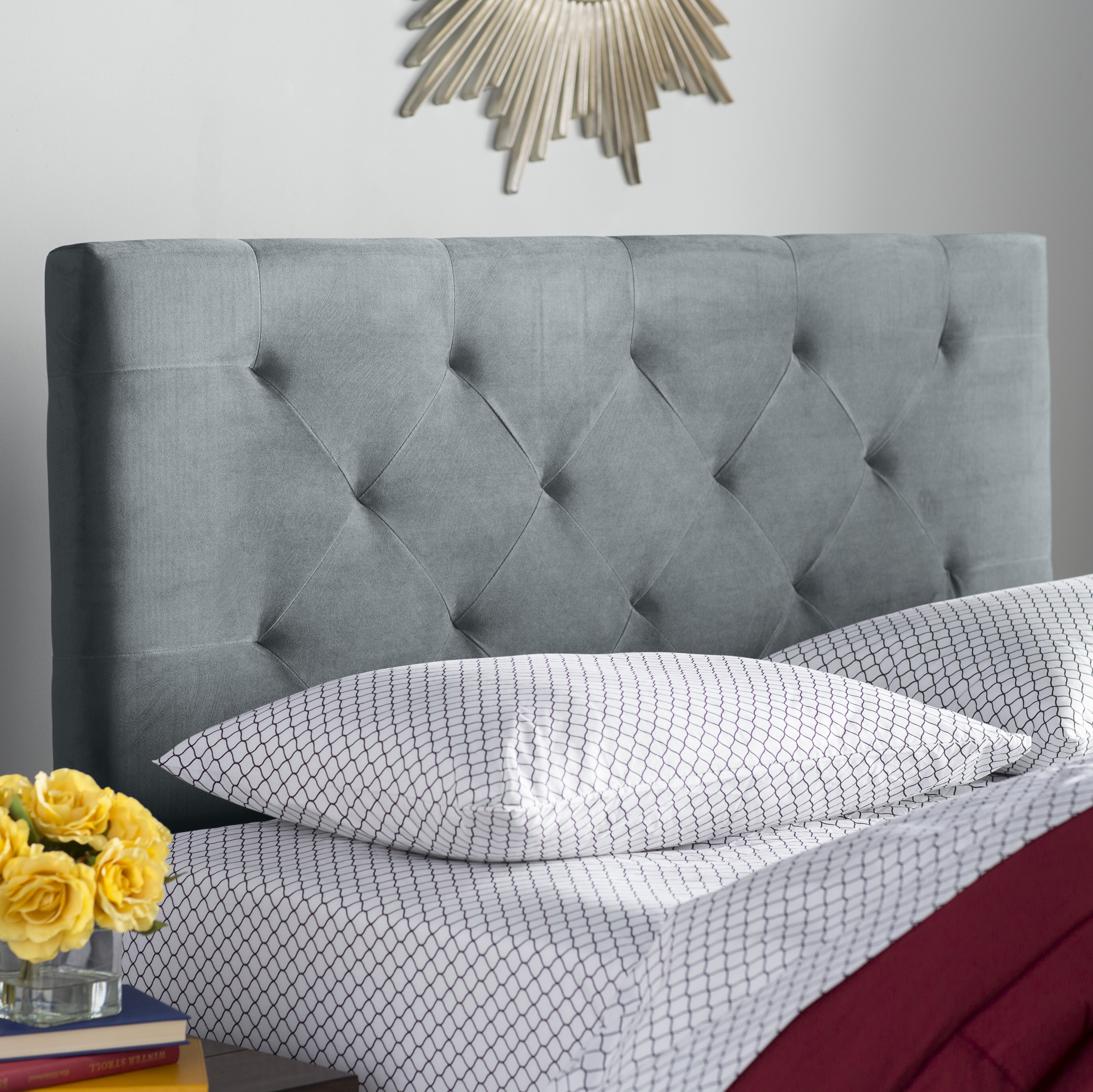 upholstered flooringtreatment concrete adjustable cheap and jute with for stunning comforter wool grey also frames headboards rug trends frame headboard including bed king beds