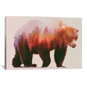 'Brown Bear' Graphic Art Print by East Urban Home