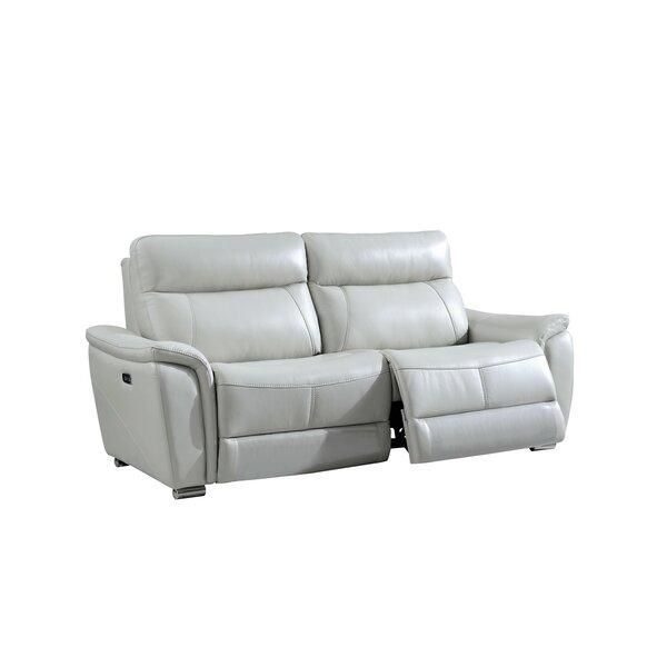Desertderrin Electric Leather Reclining Sofa