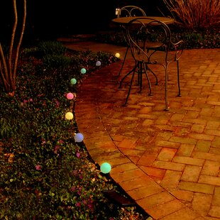Purchase Solar Color Changing 8 Light Globe String Lights By LumaBase
