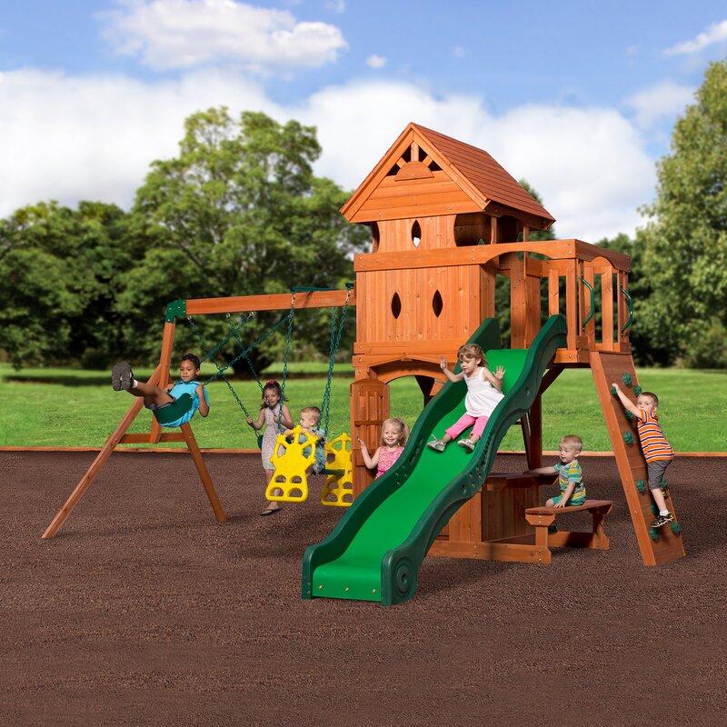 Backyard Discovery Weston Cedar Swing Set Instructions ...