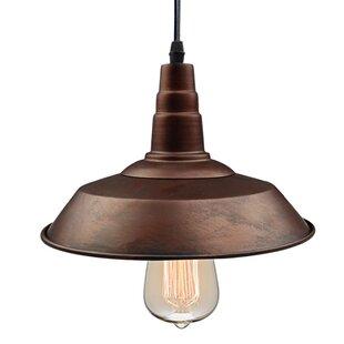 Comparison 1-Light Dome Pendant By LNC Home