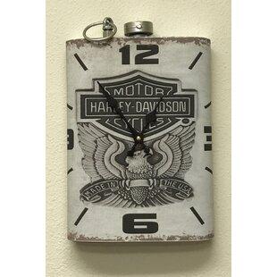 Hagans Harley Davidson Wall Clock