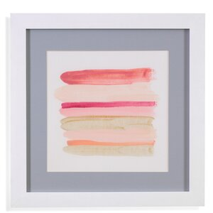 'Palette Stack IV' Framed Print by Mercury Row