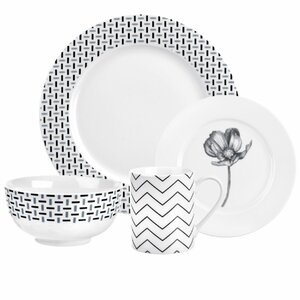 Stella 16 Piece Dinnerware Set