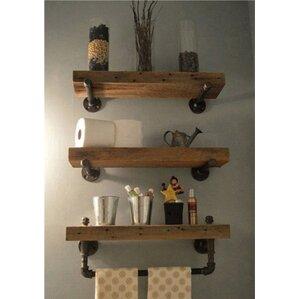 Accent shelves you 39 ll love wayfair for Etagere cuisine industrielle