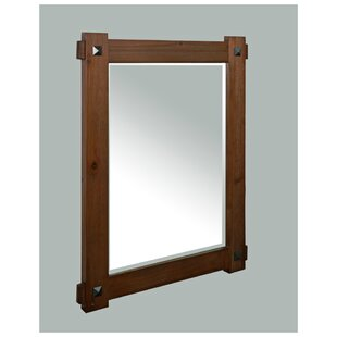 Inexpensive Weitzman Rustic Bathroom/Vanity Mirror By Millwood Pines