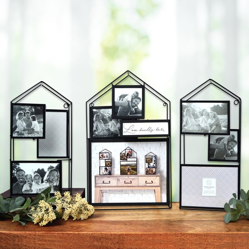 Wire Home With Mdf Hanging frames By Juliana
