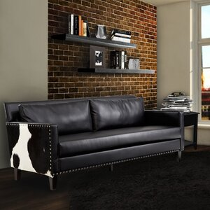 Dallas Leather Sofa by Armen Living