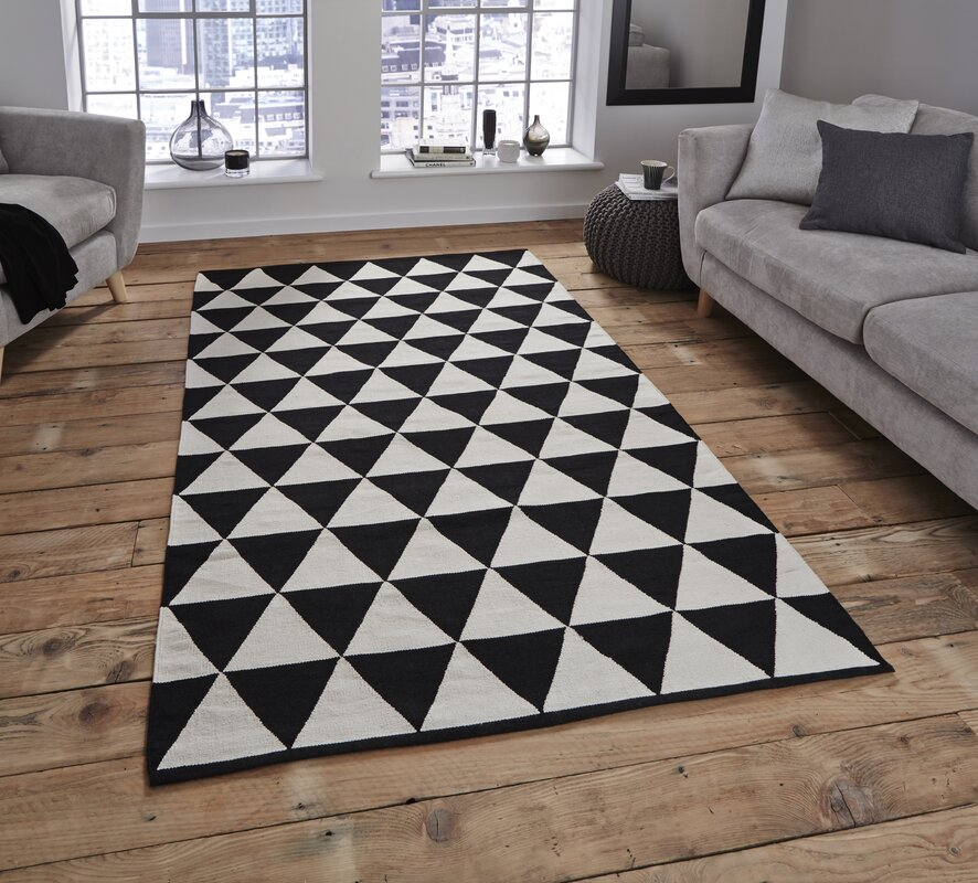 Fj 248 Rde Amp Co Lanessa Black White Area Rug Amp Reviews