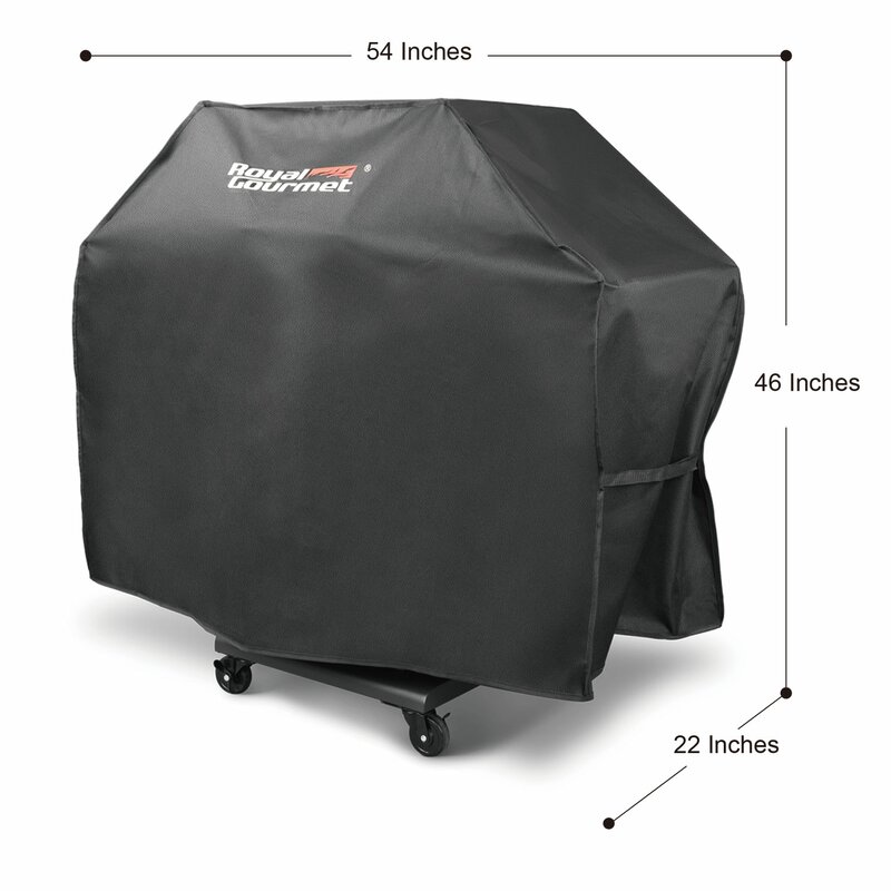 """Royal Gourmet 54/"""" Oxford Grill Cover Waterproof Polyester"""