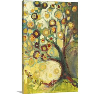 'Tree of Life in Autumn ' Painting Print on Canvas by Great Big Canvas