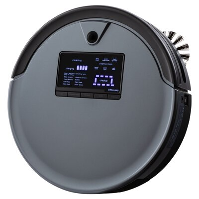 bObsweep PetHair PLUS Robotic Vacuum Cleaner with mini mop attachment bObsweep Color: Charcoal