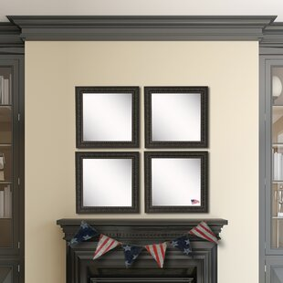 Compare & Buy Derrik Dark Embellished Wall Mirror (Set of 4) By Astoria Grand