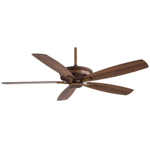 Inexpensive 60 Kafe 5 Blade Ceiling Fan with Remote By Minka Aire