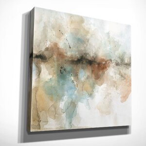 'Island Mist I' by Carol Robinson Painting Print on Wrapped Canvas by Wexford Home