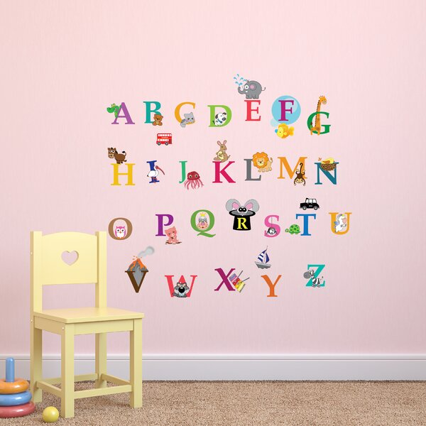 Childrens Colourful Numbers Pack of 10 Wall Art Stickers Learning Decal Mural