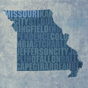 Missouri Textual Art by Prestige Art Studios