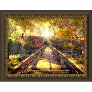 'In All Thy Ways' Framed Photographic Print by Red Barrel Studio