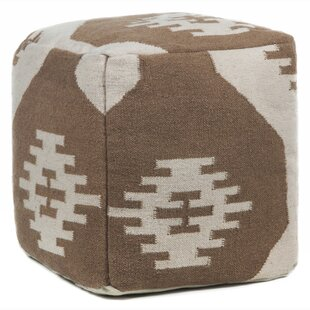 America Textured Pouf