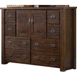 tall bedroom dresser. Bison Ridge 8 Drawer Combo Dresser Extra Tall Bedroom  Wayfair