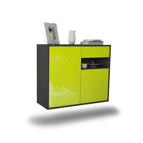Sideboard Rothsay ModernMoments Farbe: Grün Hochglanz | Wohnzimmer > Schränke > Sideboards | ModernMoments