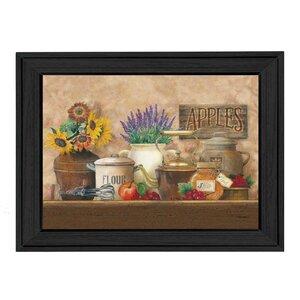 'Antique Kitchen' Framed Graphic Art Print by Winston Porter