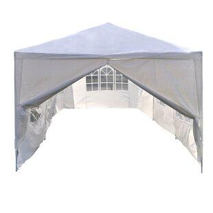 10 Ft. W x 30 Ft. D Metal Party Tent  sc 1 st  Wayfair & 10 X 30 Party Tent   Wayfair