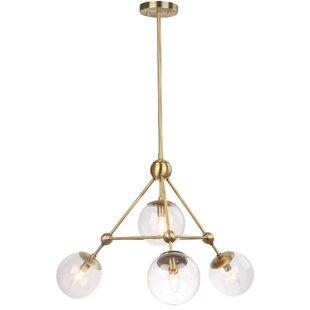 Modern contemporary 277 volt pendant led lights allmodern vandling 4 light led globe pendant aloadofball Images