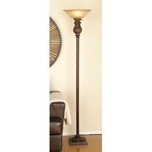 Guide to buy Metal Glass 70 Torchiere Floor Lamp By Cole & Grey