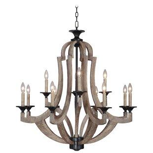 Marcoux 12 light wayfair marcoux 12 light candle style chandelier audiocablefo