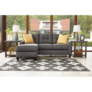 Kynlee Reversible Sleeper Sectional Winston Porter