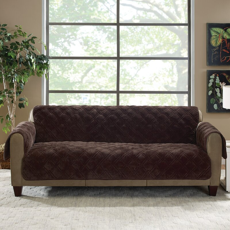 fit main damask slipcover piece sure sofa fpx image jacquard shop slipcovers product stretch