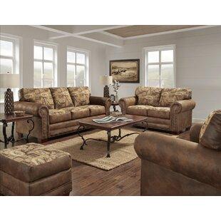 Buie River Bend 4 Piece Living Room Set by Loon Peak®