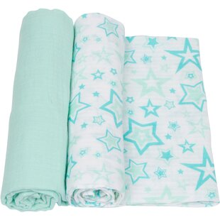 Best Reviews Stars 2 Piece Swaddle Blanket Set By Miracle Blanket