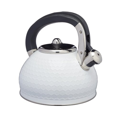 Lovello 2.5L Stainless Steel Whistling Stovetop Kettle