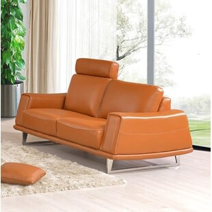 Ballou Leather Loveseat