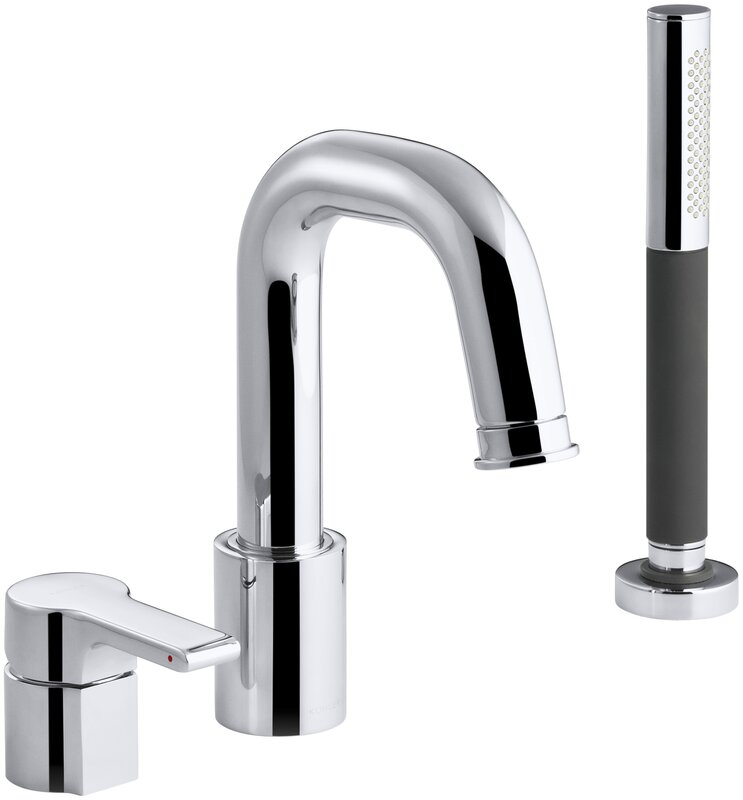 kohler roman tub faucet with hand shower. Singulier Deck Mount Bath Filler with Handshower Kohler  Reviews