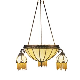 Gothic chandelier wayfair gothic 6 light shaded chandelier mozeypictures Gallery