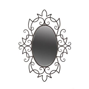 Byron Anthony Home Rose Accent Wall Mirror
