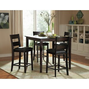 belknap 5 piece counter height dining set - Height Of Dining Room Table