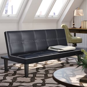Ailith Leather Sleeper Sofa by Andover Mills
