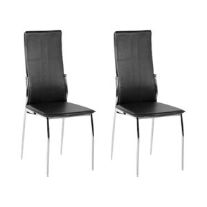 martha upholstered dining chair set of 2