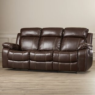 Chestnut Reclining Sofa
