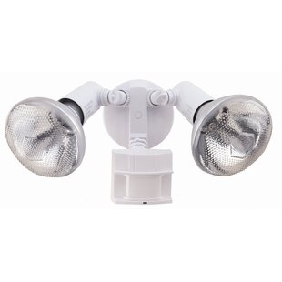 Comparison Motion Activated 2-Light Outdoor Floodlight By Heath-Zenith