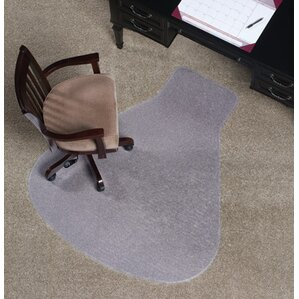 workstation medium plush carpet chair mat - Office Chair Mat