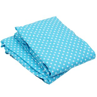 Buy clear Yasmeen Pin Dots Fitted Crib Sheets (Set of 2) By Viv + Rae