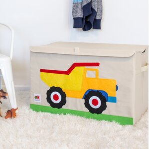 olive kids dump truck toy box