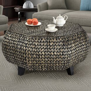 Dimitri Octagonal Coffee Table by World Menagerie
