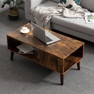 Alarcon Coffee Table with Storage by Corrigan Studio